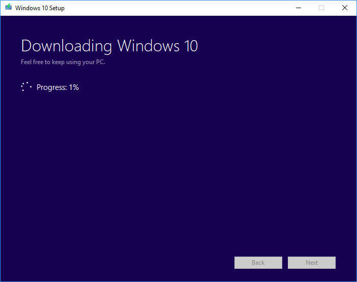 Download Windows 10 ISO File Using Media Creation Tool
