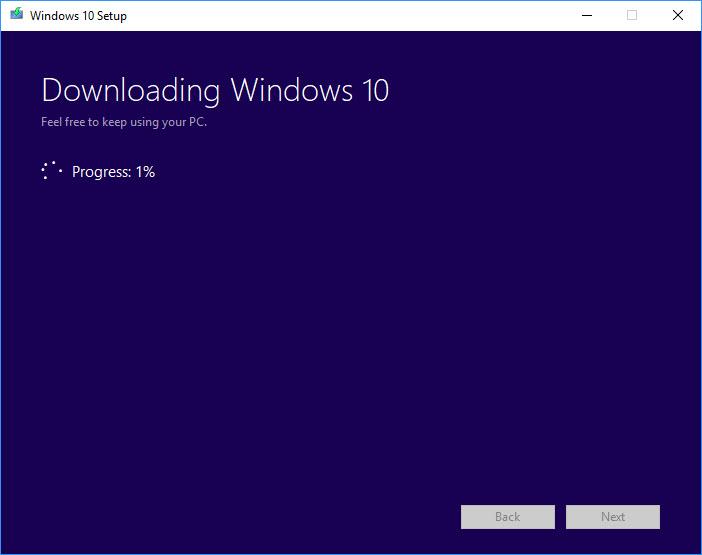Download Windows 10 ISO File Using Media Creation Tool