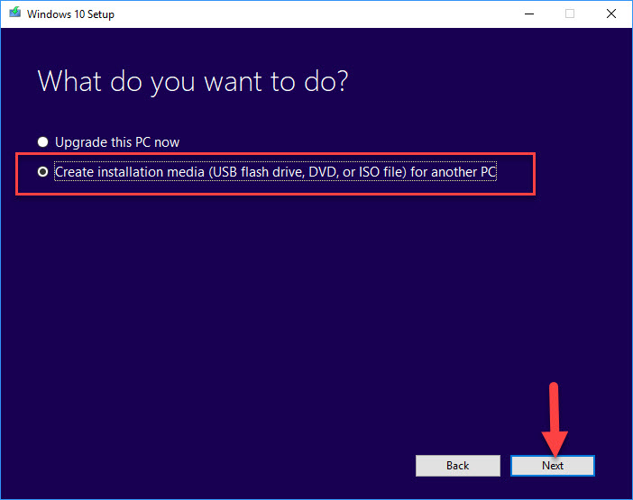How To Download Windows 10 ISO File Using Media Creation Tool - 2