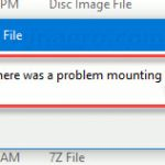 FIX: Couldn't Mount File Error in Windows 10