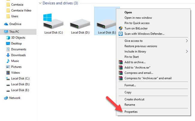 Fix Windows Detected A Hard Disk Problem in Windows 10 - 1