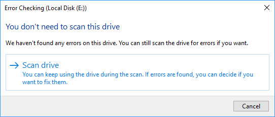 Fix Windows Detected A Hard Disk Problem in Windows 10 - 3