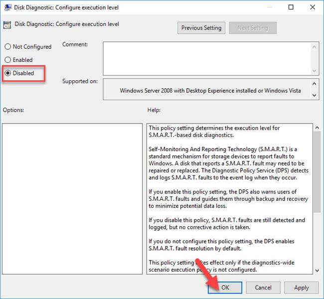 Fix Windows Detected A Hard Disk Problem in Windows 10 - 6