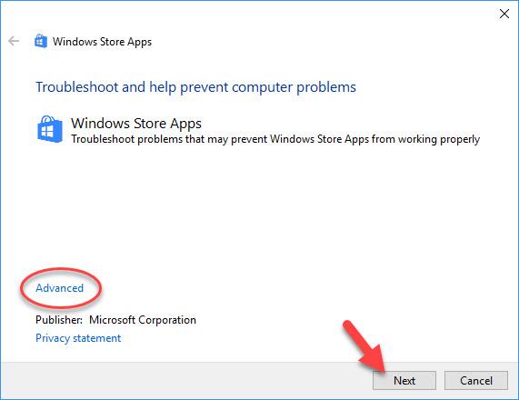 Fix Windows 10 App Store Icon Missing