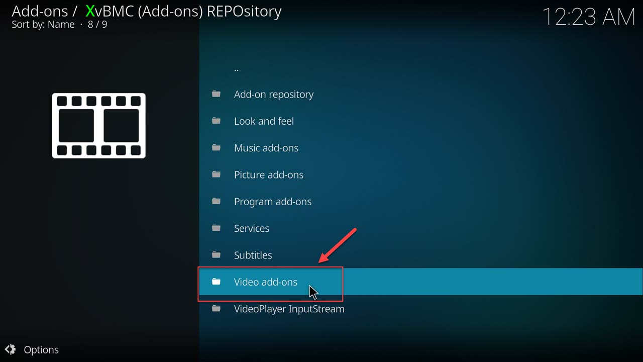 How to install an add-on in Kodi - 12