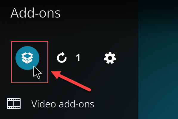 How to install an add-on in Kodi - 6