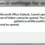 Top 5 Ways to Fix Cannot Start Microsoft Outlook Problem