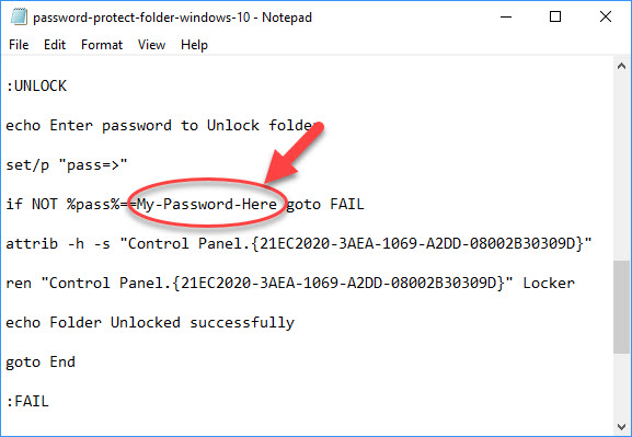 How To Password Protect A Folder In Windows 10 - 2