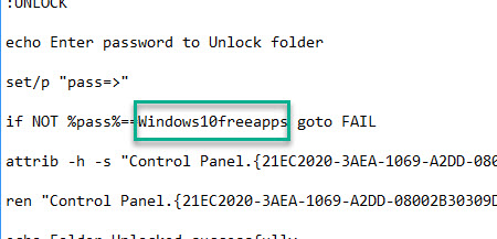 How To Password Protect A Folder In Windows 10 - 3