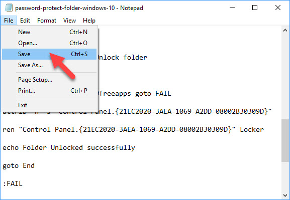 How To Password Protect A Folder In Windows 10 - 4