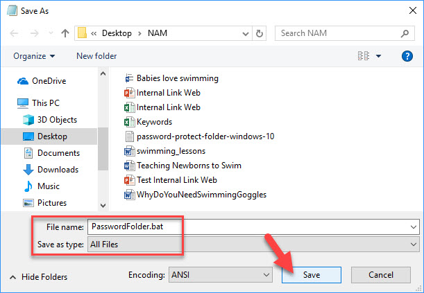 How To Password Protect A Folder In Windows 10 - 5