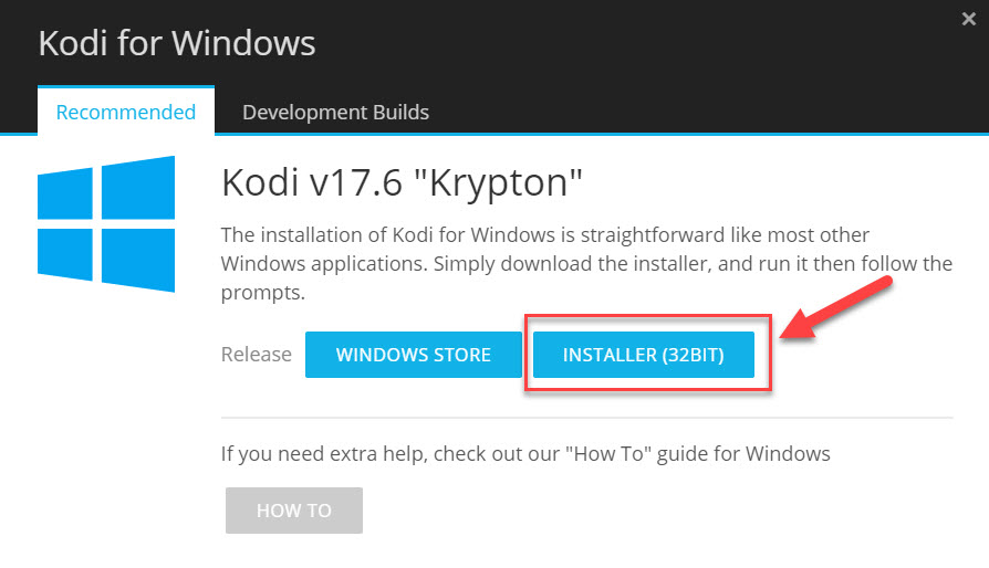 kodi download for windows 10