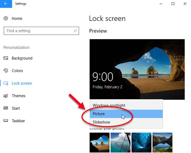 Fix Windows Spotlight Not Working In Windows 10 - 1