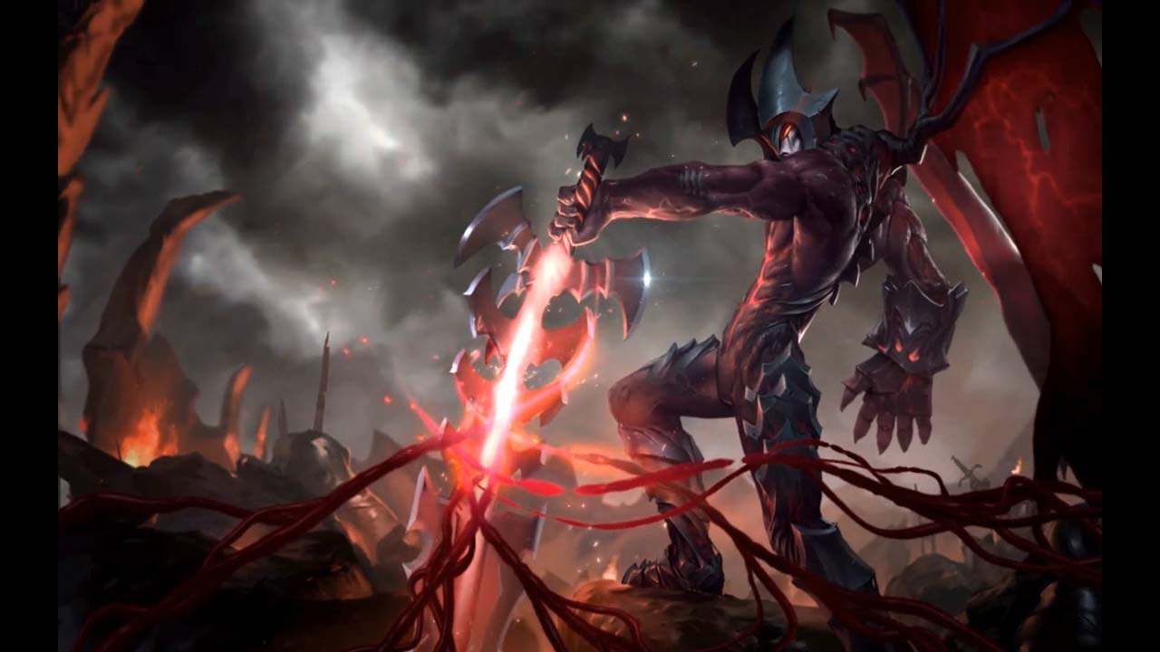 League of legends Aatrox Live Wallpaper