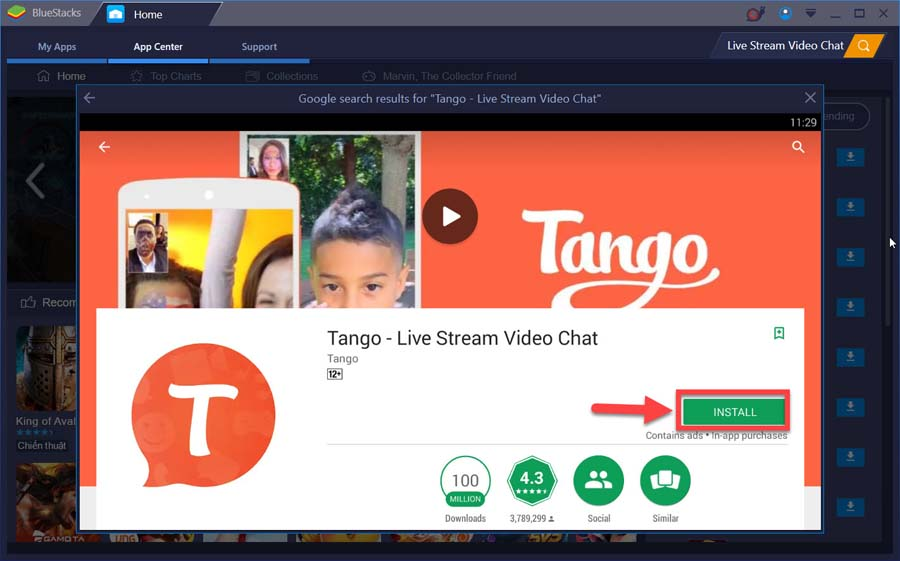 Download and Install Tango For PC on Windows 10/8/7