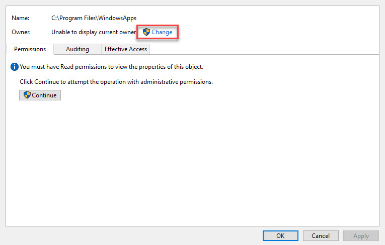 FIX: You Have Been Denied Permission To Access This Folder Error In Windows 10 - 3