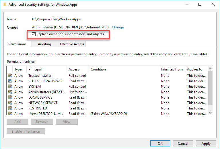 FIX: You Have Been Denied Permission To Access This Folder Error In Windows 10 - 5