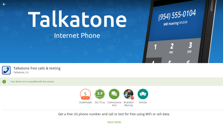 Talkatone For PC (Windows 10/8/7 & Mac)