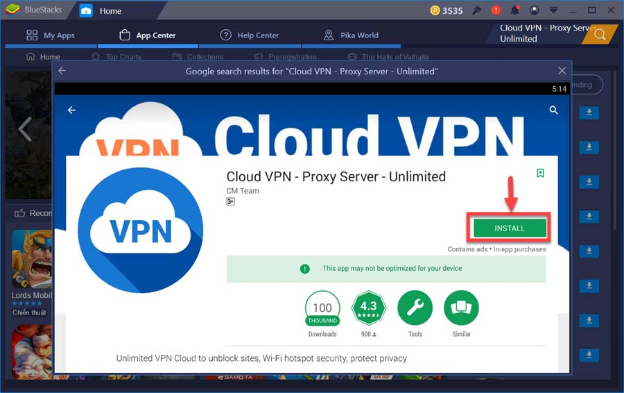 Vpn cloud google play