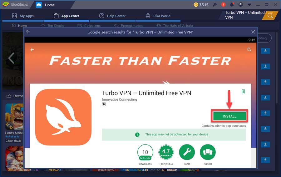 Install Turbo Vpn For Windows Pc From Google Play Store Windows 10