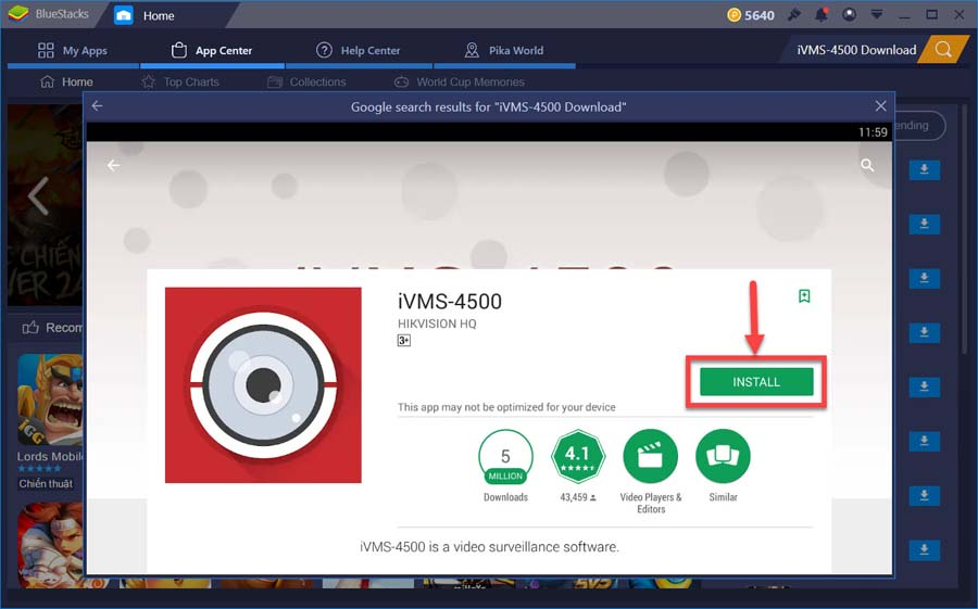 Download/Install iVMS-4500 For PC Windows 10/8/7