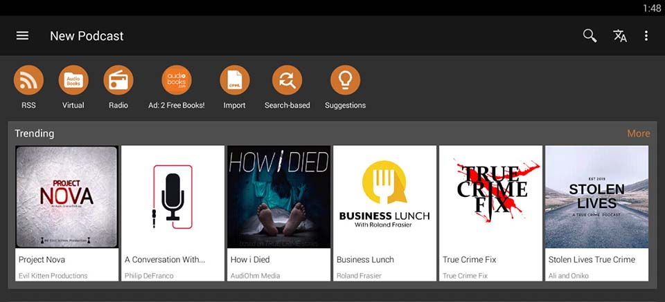 Podcast Addict For PC (Windows 10/8/7 and Mac) Free Download