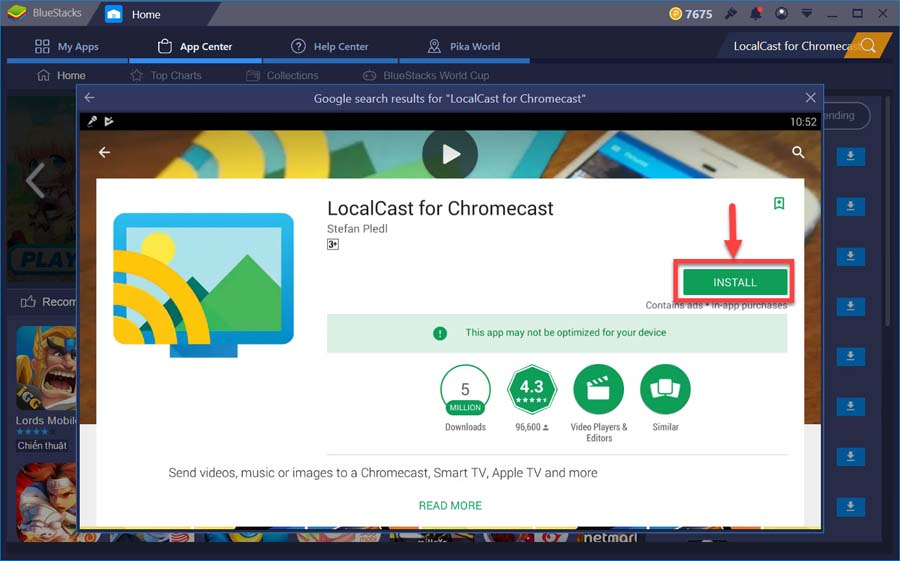 APPLICATION LOCALCAST TÉLÉCHARGER