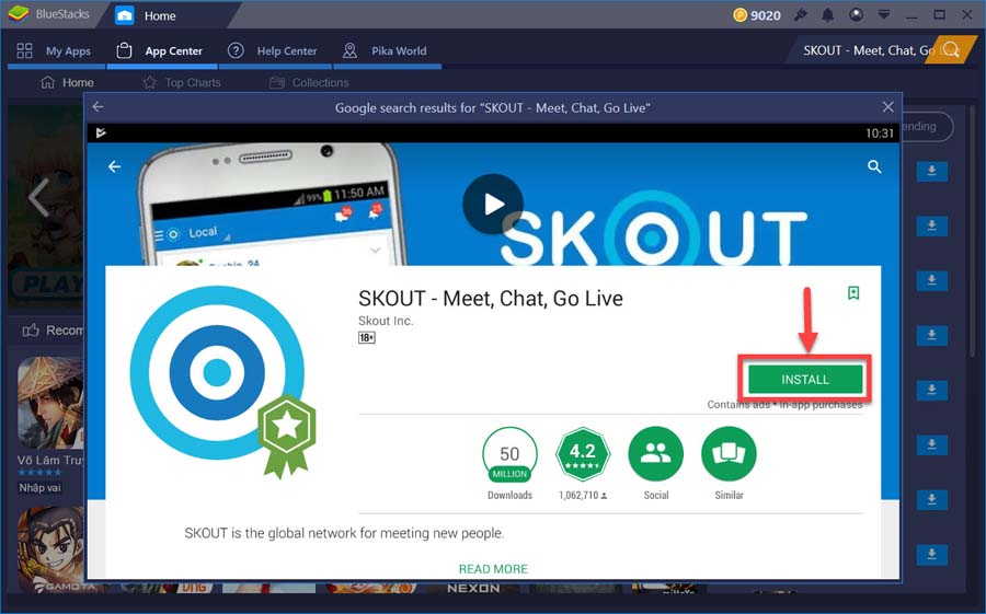 SKOUT - Meet, Chat, Go Live For PC Free Download - Windows