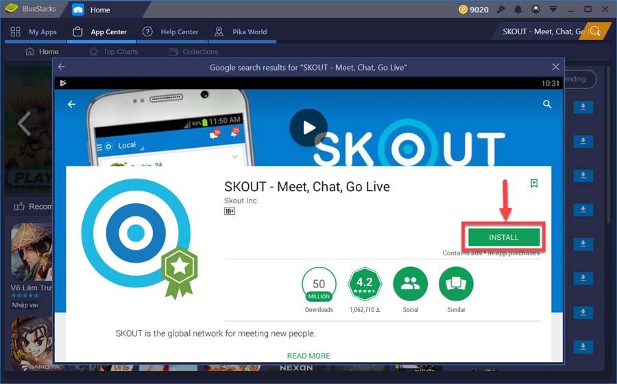 skout free download