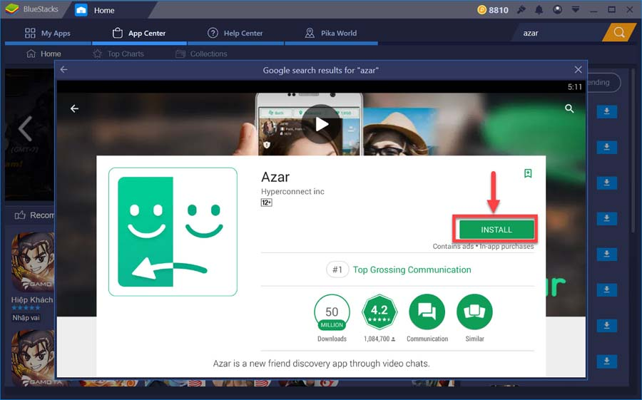Azar For PC (Windows 10/8/7 and Mac OS) Free Download