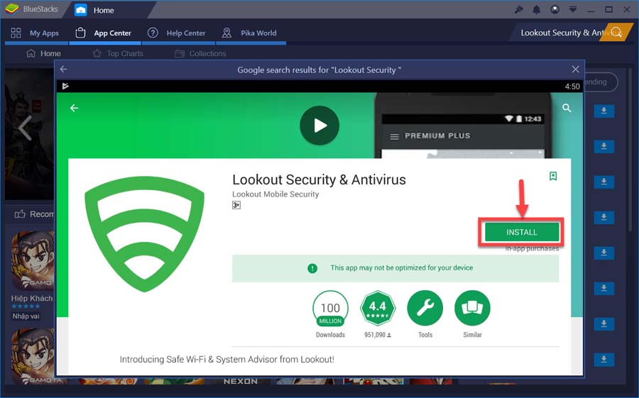Lookout Security & Antivirus For PC (Windows 10/8/7 and Mac