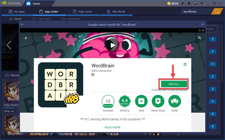 Wordbrain for windows 10