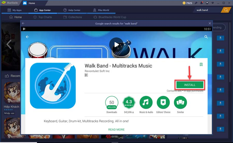 Download Walk Band For PC (Windows 10/8/7 and Mac OS) For