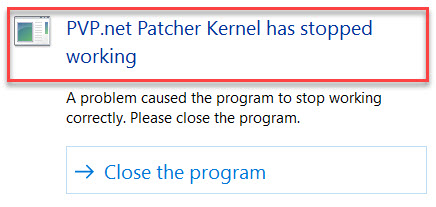 Lol patch kernel not working