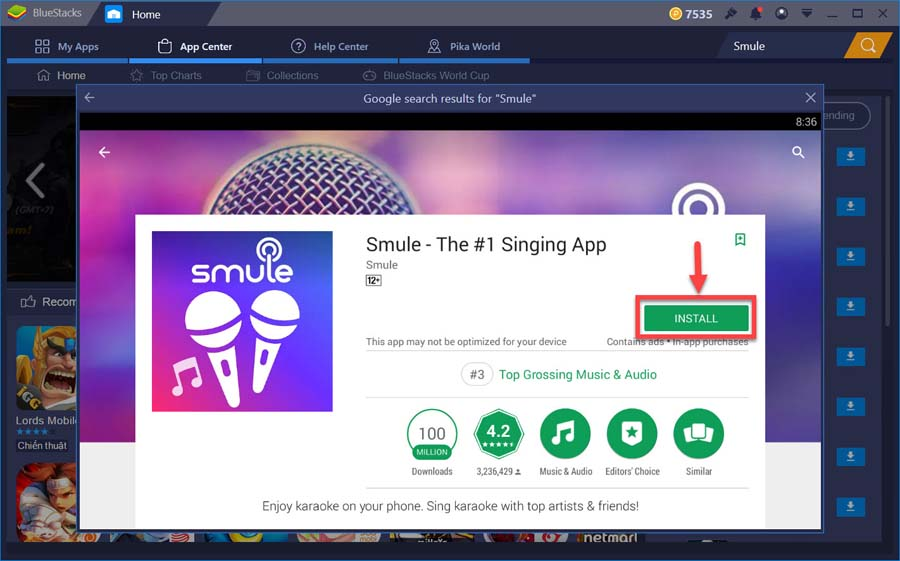 smule karaoke for pc