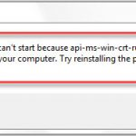 How To Fix api-ms-win-crt-runtime-l1-1-0.dll Is Missing Error On Windows 10/8/7