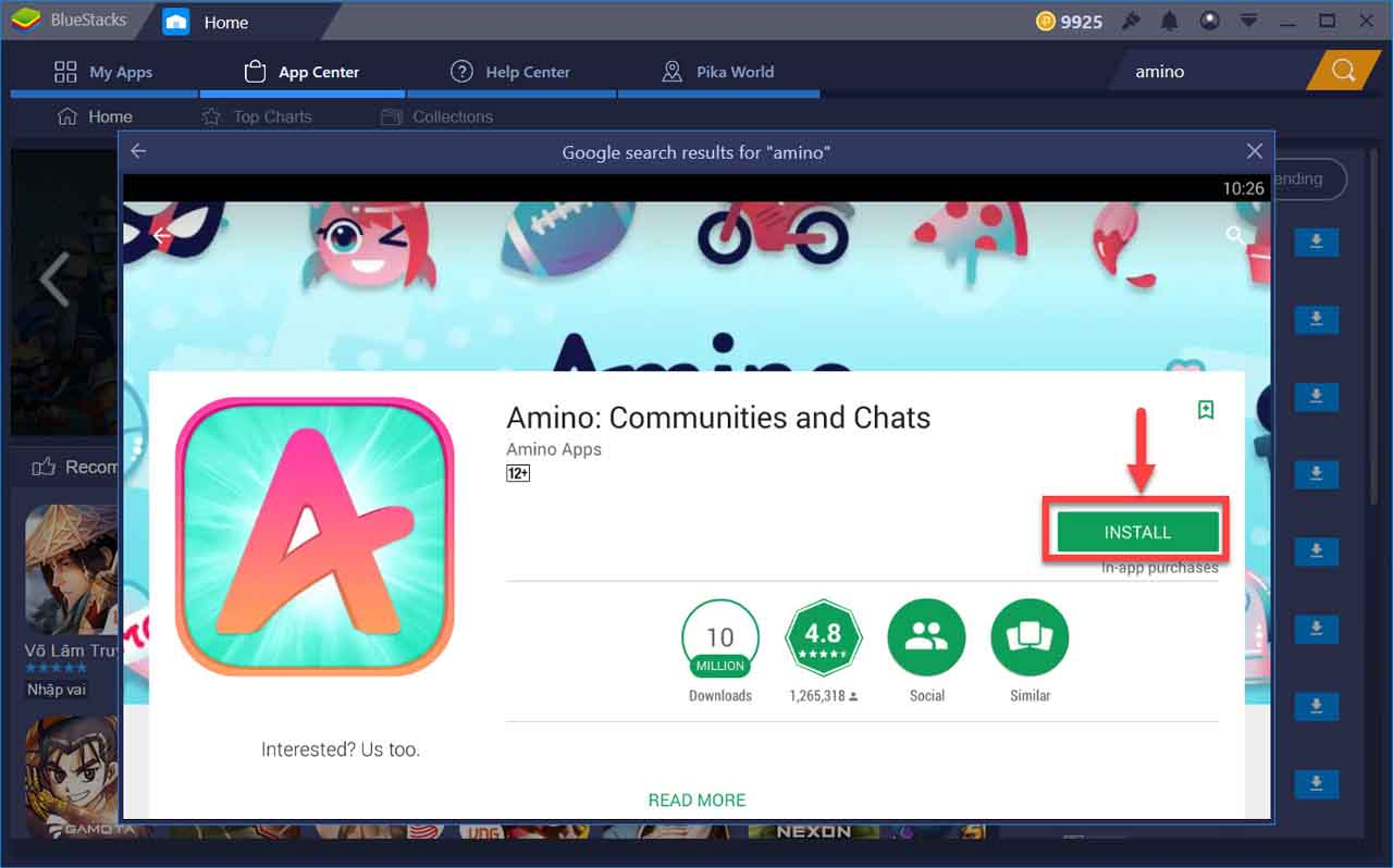 Download Amino App For PC