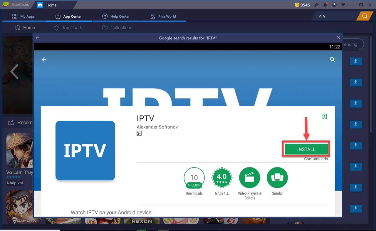 Download IPTV For PC