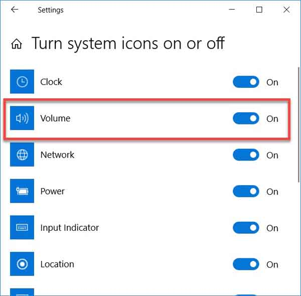 Fix: Volume Icon Missing In Windows 10