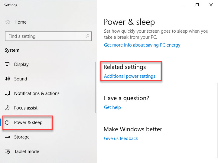 Fix Windows 10 Shuts Down Instead of Sleep - 1