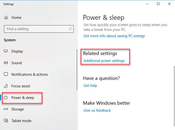 Fix Windows 10 Shuts Down Instead of Sleep - 1