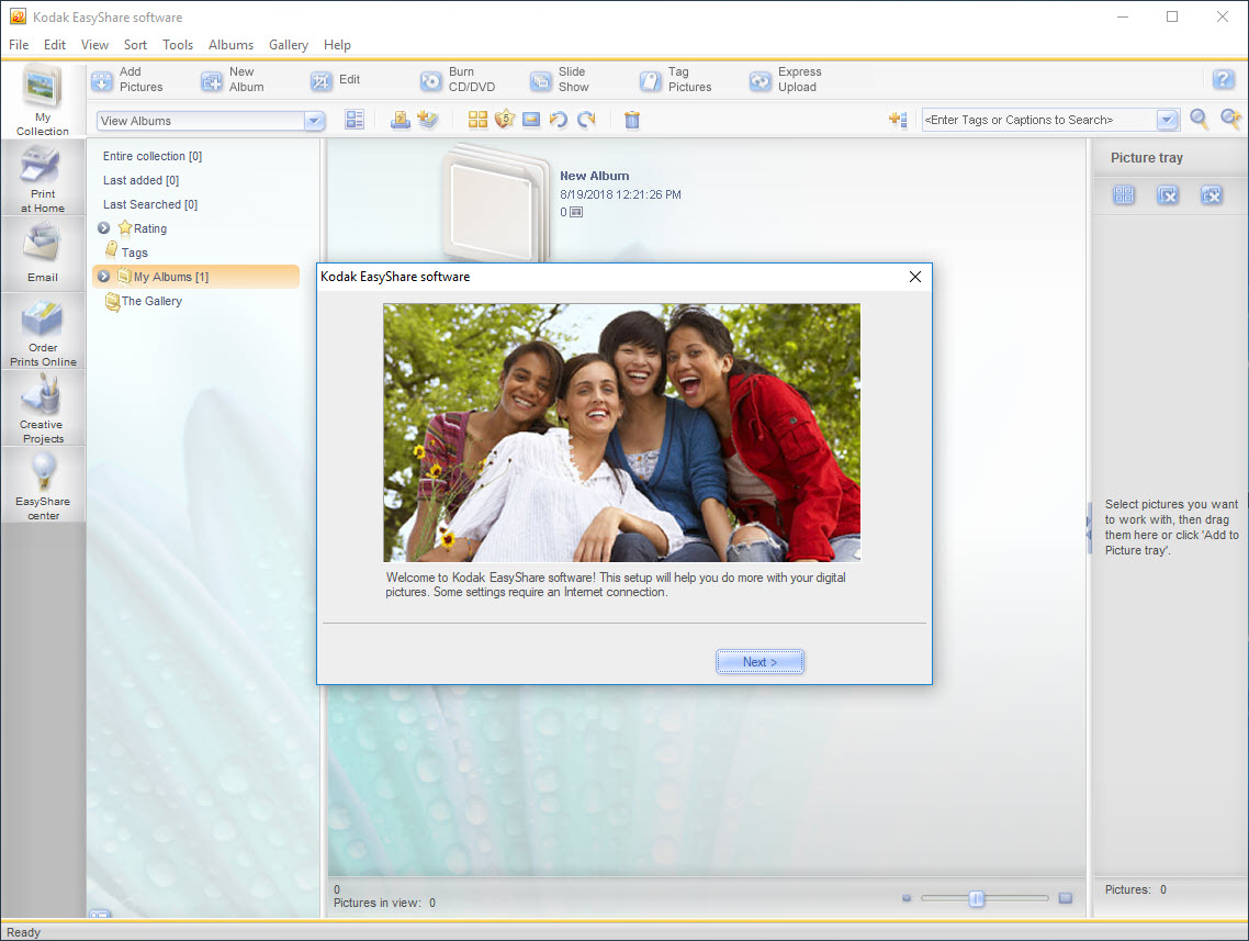 Kodak EasyShare Software Version 8.3 Free Download