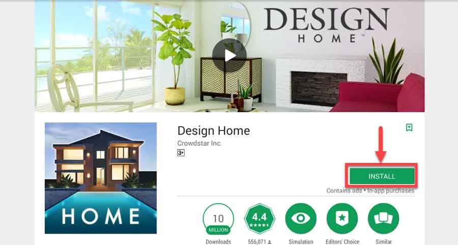Download and Install Design Home game for PC (Windows and Mac OS)