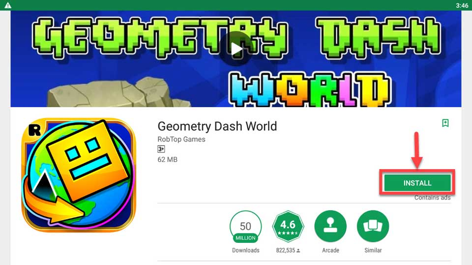 Geometry Dash For PC/Laptop (Windows 10/8/7 and Mac OS) Free