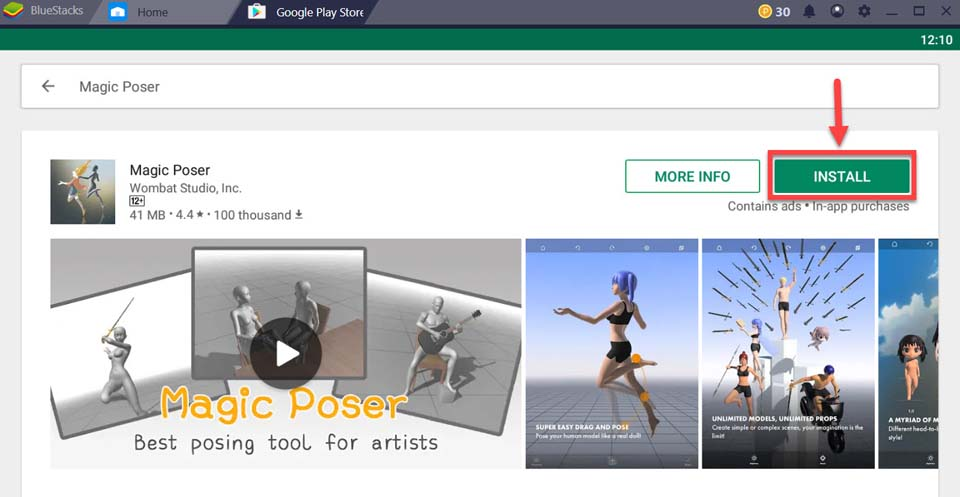 Download and Install Magic Poser for PC (Windows 10/8/7 and Mac)