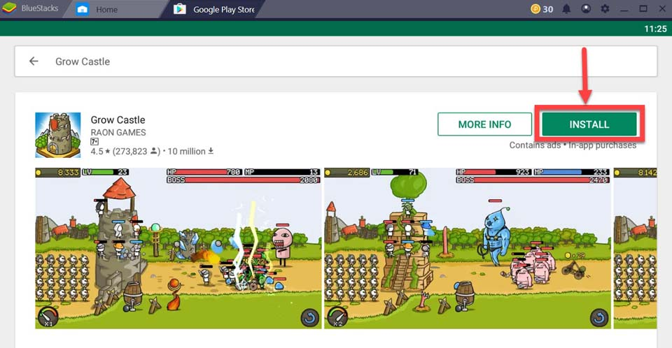 Download and Install Grow Castle For PC (Windows 10/8/7 and Mac)