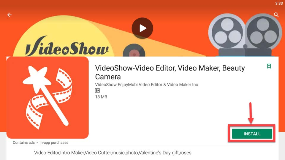Download and Install VideoShow for PC For PC (Windows 10/8/7 and Mac)