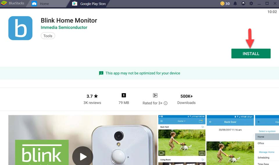 Download and Install Blink Home Monitor For PC (Windows 10/8/7 and Mac)