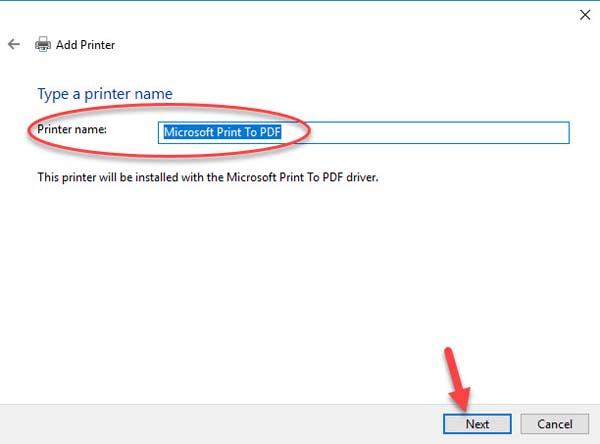 FIX: Microsoft Print to PDF not working on Windows 10 - 11
