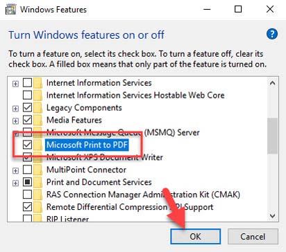 FIX: Microsoft Print to PDF not working on Windows 10 - 2